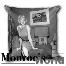 Dressing Room 1954 Pillow