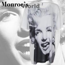 Marilyn Monroe T-Shirt Dress Portrait Dressing Room